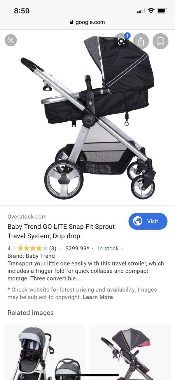 Baby trend go lite travel system stroller