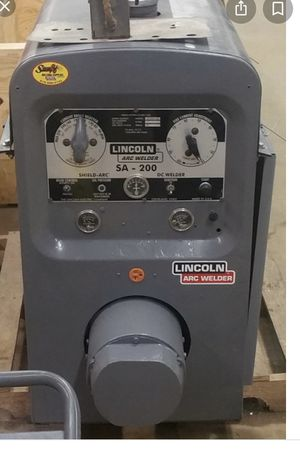 Looking for a SA-200 or SA-250 welder for Sale in Bakersfield, CA