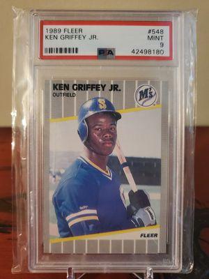 MINT! Ken Griffey Jr 1989 Fleer rookie card for Sale in Alexandria, VA