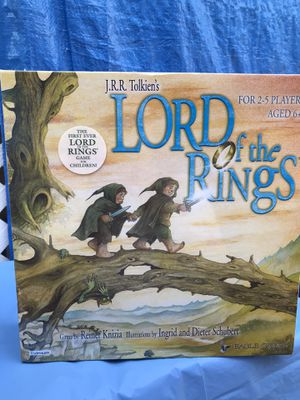 Lord of the Rings Board Game for Kids 2003 New for Sale in Irwindale, CA