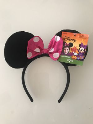 New Disney Minnie mouse ears headband for Sale in Hercules, CA