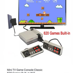 Mini Game Console With 620 Classic Games Already In To Play Plug-in & Play for Sale in Lake Wales, FL