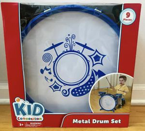 Metal Drum Set, 9 Pieces, Brand NEW! Porch Pickup or Can Ship! for Sale in Roxbury Township, NJ