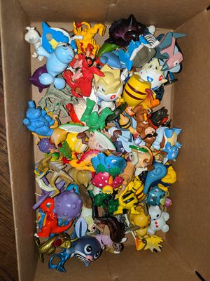 Pokemon Vintage 2000 Figurines 80+ Pieces for Sale in Stratford, CT
