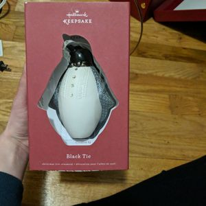 Christmas Tree Hallmark Keepsake Ornament Penguin for Sale in Lacey, WA