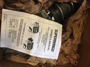 X3 Superwinch for Sale in San Diego, CA