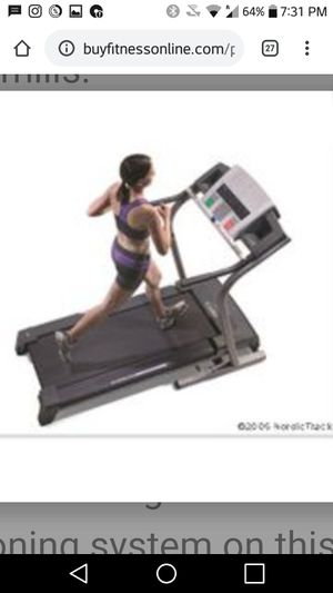 NordicTrack treadmill with incline for Sale in Gresham, OR