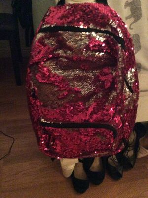 Pink sparkly backpack for Sale in Las Vegas, NV