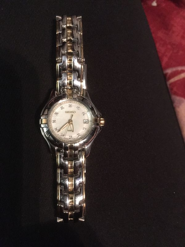 Make Offer- Brand New - Never Used - Stainless Steel Women's Seiko Watch