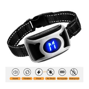 rechargeable dog bark collar -sound/vibrate/shock for Sale in Bloomington, CA