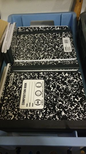 Unison composition notebooks for Sale in Menifee, CA