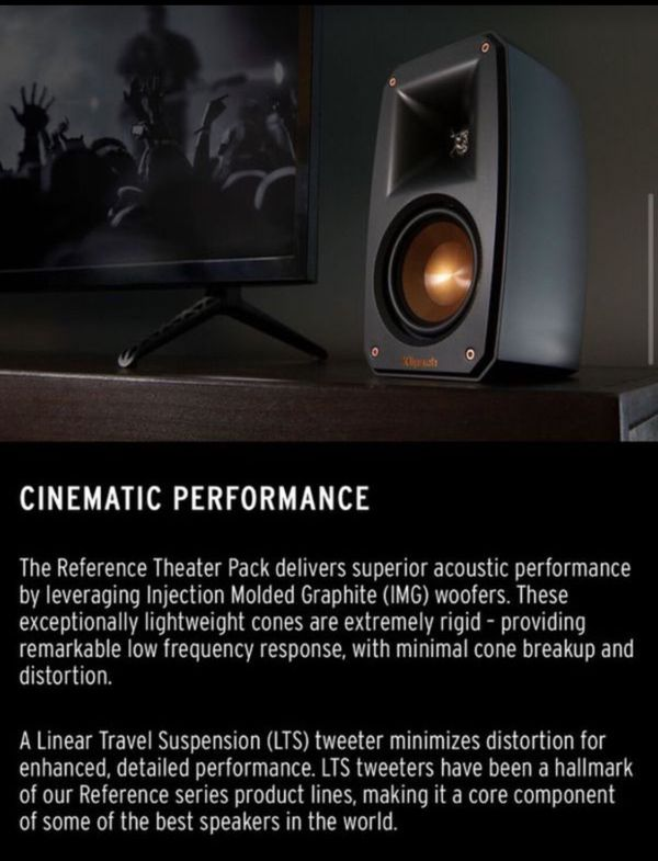 5.1 Surround Sound System - Klipsch