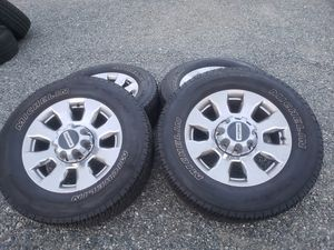 ford f-250 f-350 wheels and tires for Sale in Renton, WA