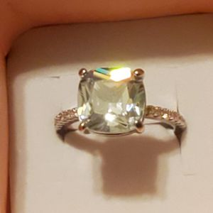 Sz 6 3CT White Sapphire Ring for Sale in Vancouver, WA