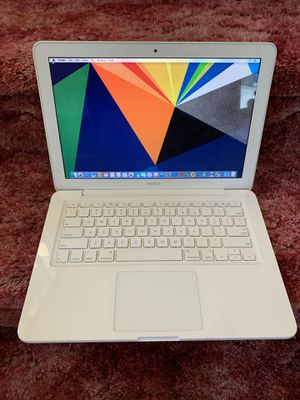 MacBook white unibody 2010 with Microsoft office and Charger for Sale in Oceanside, CA