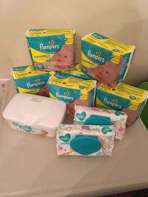 🧸 Brand new newborn diaper bundle 🧸 for Sale in Springfield, VA