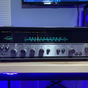 Retro Sony STR-6036A Stereo Receiver and Accessories Great Condition for Sale in Charlotte, NC