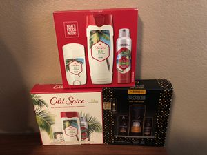 AXE OR OLD SPICE MEN GIFTS SET for Sale in Wildomar, CA