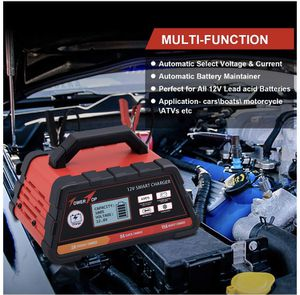 Ampeak 2/8/15A 12V Smart Battery Charger/Maintainer Automatic with Winter Mode for Sale in Los Angeles, CA