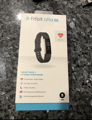 Fitbit Alta HR - size small with extra band for Sale in Avondale, AZ