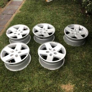 "Stock JEEP WRANGLER 2018 17"" OEM WHEEL RIM for Sale in Philadelphia, PA"