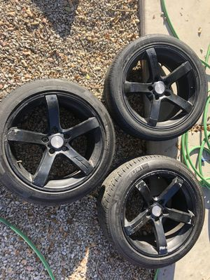Mrr wheels for Sale in Peoria, AZ