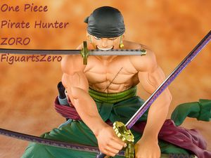 One Piece Pirate Hunter Zoro Roronoa FiguartsZero Statue for Sale in Los Angeles, CA