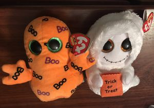 Halloween plushies new with tags for Sale in Springfield, VA