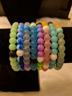 Set of 8 Element Rubber Bracelets for Sale in Manassas, VA