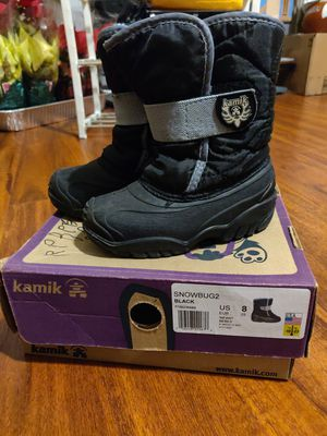 Kamik snow boots boys girls toddler size 8 for Sale in Temple City, CA