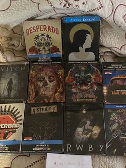 Steelbook Lot PopArts And OOP Titles PRICE IN DESCRIPTION for Sale in Visalia,  CA