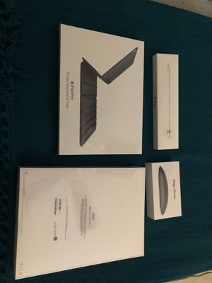 Brand new iPad Pro 64GB with all accessories unopened for Sale in Lake Elsinore, CA