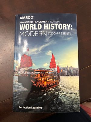 Book - Advanced Placement Edition WORLD HISTORY for Sale in Miami, FL