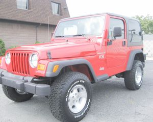 2002 Jeep Wrangler for Sale in Los Angeles, CA