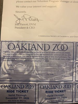 Oakland Zoo for Sale in Oakland, CA