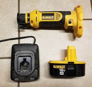 DeWalt 18v cut out tool, Battery, and charger for Sale in Virginia Beach, VA
