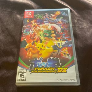 New Sealed Nintendo Switch Pokken Tournament DX for Sale in San Diego, CA