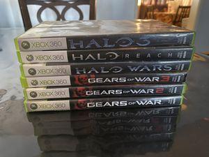 Xbox 360 GAMES / HALO / GEARS OF WAR for Sale in Rialto, CA