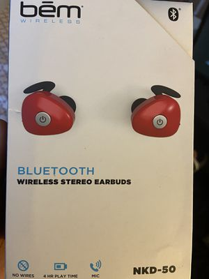 bem wireless headphones for Sale in Minneapolis, MN