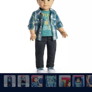 "American Girl Doll ""Logan"" for Sale in Jurupa Valley, CA"
