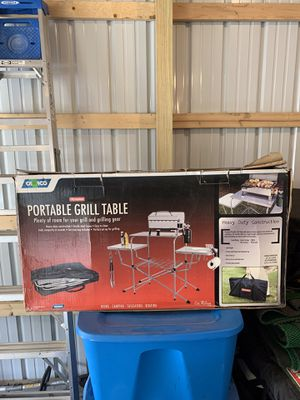 Camping grill table for Sale in Carthage, MO