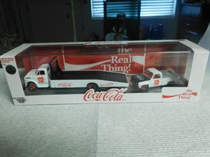 M2 Limited edition die-cast coca-cola 1:65 scale model toy. Highly Collectible! for Sale in Clearwater, FL