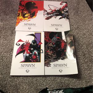 Spawn Dc Comics Marvel Lot Trade Paperback for Sale in Chino Hills, CA