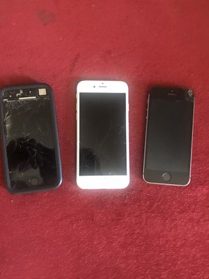 3 cell phones for parts for Sale in Phoenix, AZ