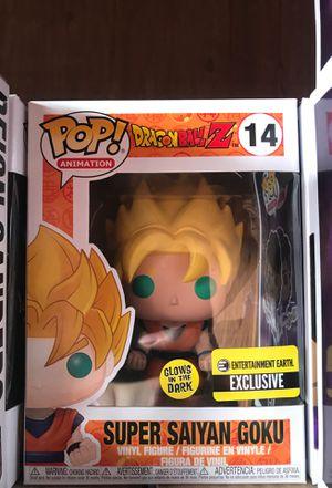 Funko POP! Super Saiyan Goku #14 GITD for Sale in Palo Alto, CA
