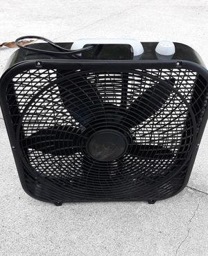 Black box fan for Sale in Boynton Beach, FL