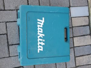 Makita plastic case only for Sale in Niles, IL