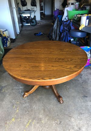 Antique solid wood table for Sale in Arlington, TX