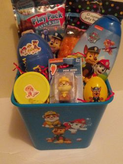 Paw Patrol Easter Basket for Sale in Newport News,  VA