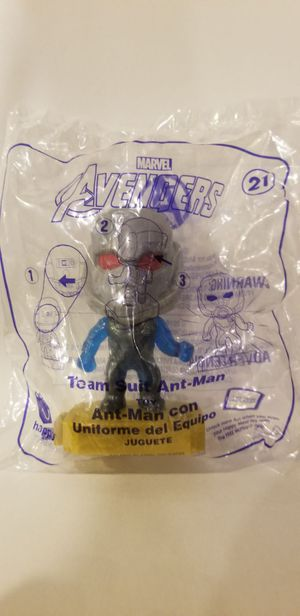 Avengers Ant Man Team Suit #21 McDonald's Toys for Sale in Chula Vista, CA